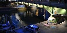 Drei Männer aus Donaukanal in Wien gerettet