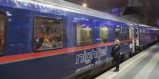 Verdacht: Wurde Frau in ÖBB-Nachtzug vergewaltigt?