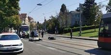 Zwei Wiener Biker bei Crash in Hietzing verletzt