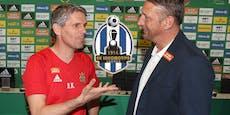 So sehen Kühbauer und Barisic das Los Lokomotiva Zagreb