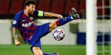Kampf gegen Corona: Messi spendet Beatmungs-Geräte