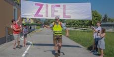 116 km in 26 Stunden: Innviertler wandert für Kirche