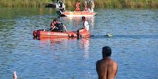 Taucher suchen nach Vermissten in beliebtem Badesee