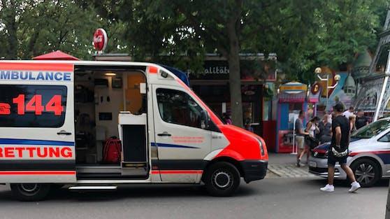 Unfall in Wiener Prater