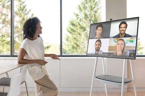 Preview für Surface Hub-Betriebssystem verfügbar.