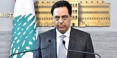 Libanons Regierung tritt nach Explosion komplett zurück