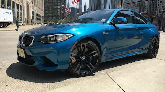 Ein BMW M2 Baujahr 2016. Symbolfoto