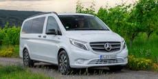 Mercedes präsentiert zweiten Elektro-Van