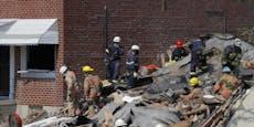 Tote und Verschüttete bei Gasexplosion in Baltimore