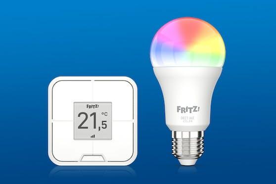 Router-Spezialist AVM fährt zwei neue Smart-Home-Produkte auf.