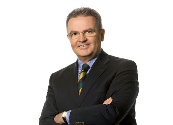 Vorstandsvorsitzender Johannes Loinger.
