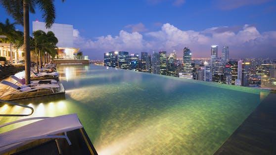 Sky Park im Marina Bay Sands in Singapur