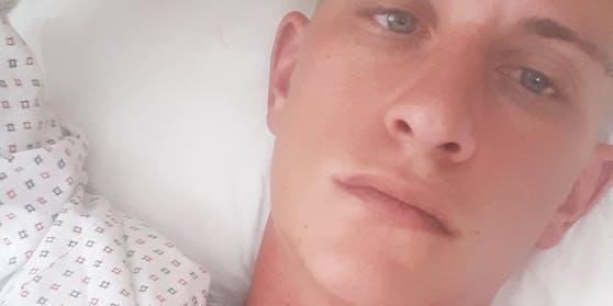 Krankenhausreif geschlagen: David erlitt einen Kieferbruch, Prellungen und eine Gehirnerschütterung.