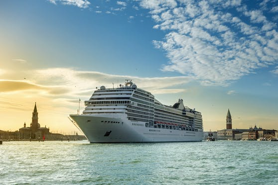 Bald werden in Venedig wieder Kreuzfahrtschiffe anlegen.
