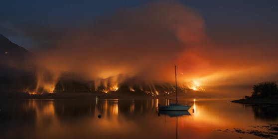 Ein Bild aus dem Parana Delta in der Provinz Entre Rios, nahe der argentinischen Stadt Rosario.