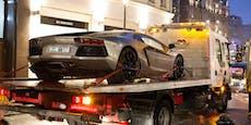 Ferrari und Lamborghini liefern sich illegales Rennen