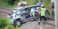 Zug rammt Auto im Burgenland – zwei Todesopfer