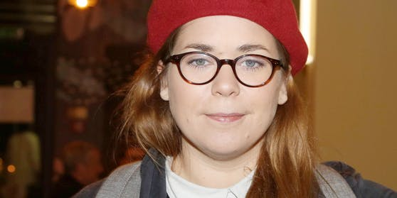 Die österreichische Schriftstellerin Stefanie Sargnagel