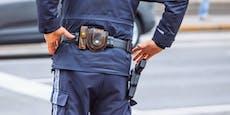 Polizist von Motorradfahrer auf Flucht angefahren