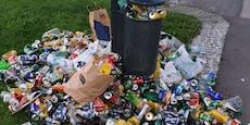 12.000 Kilo täglich! Der Helden- wird zum Müll-Platz