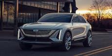 Dieser Cadillac steht unter Strom und kommt 2023