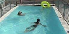 Gürtel-Pool kommt bei Besuchern gut an