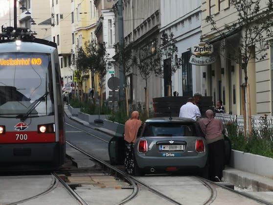 Ärgerlicher Unfall in Wien-Josefstadt