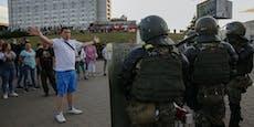 Immer härtere Polizeigewalt bei Belarus-Protesten