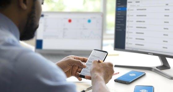 Samsung Knox Suite bündelt Lösungen für ein sicheres, einfaches Gerätemanagement.