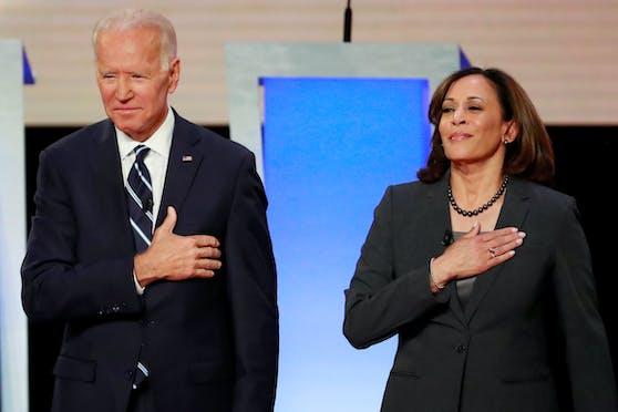 Der neu gewählte US-Präsident Joe Biden und seine Vize Kamala Harris.
