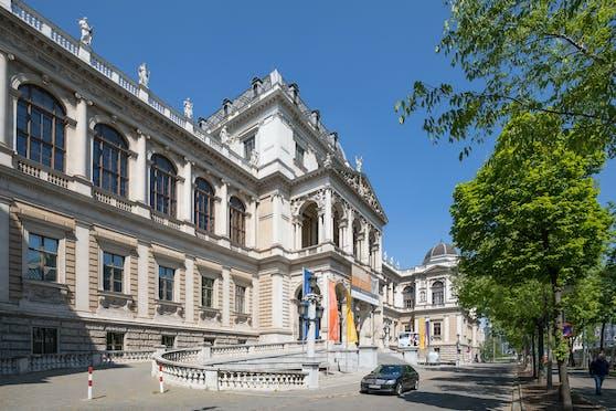 Das Hauptgebäude der Universität Wien.