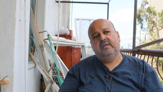 Talal Mereb war gerade mit seinem Taxi unterwegs, als im Hafen tausende Tonnen Ammoniumnitrat explodierten und die gewaltige Druckwelle sein Auto durchschüttelte.