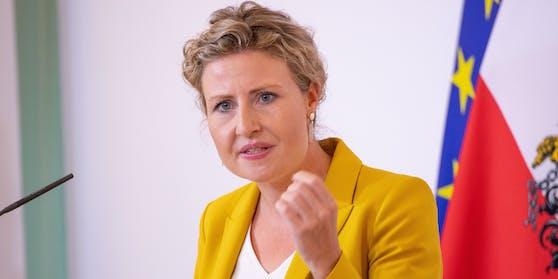 Integrations- und Frauenministerin Susanne Raab (ÖVP) wird jetzt auch Familienministerin.