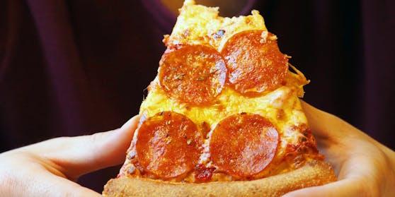 Gibt es eine falsche Art, Pizza zu essen?