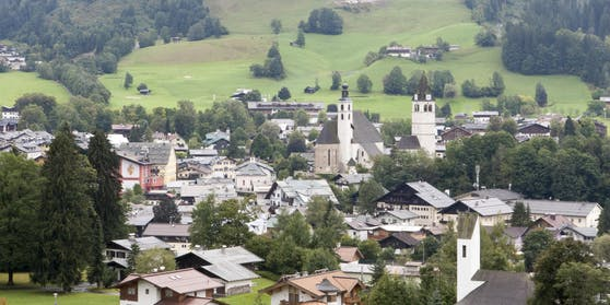 Entgegen dem Trend: In Kitzbühel (Tirol) dürften die Corona-Infektionszahlen in den nächsten 14 Tagen noch leicht ansteigen.