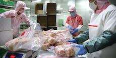 Coronavirus in gefrorenem Geflügel entdeckt