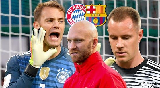 Robert Almer checkt die deutschen Goalie-Giganten.