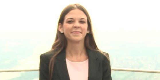 """Team-Strache-Kandidatin Christina """"Kiki"""" Kohl ist ihren Job bei der AUA los."""