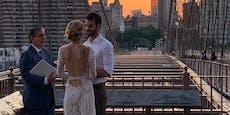 """""""Wer hat auf der Brooklyn Bridge geheiratet?"""""""