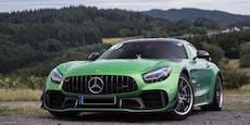 Dieb rast am Nürburgring mit Mercedes AMG GT-R davon