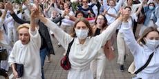 Trotz Polizeigewalt neue Proteste gegen Lukaschenko