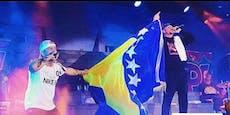 RAF holt sich mit bosnischem Song eine Gold-Platte ab