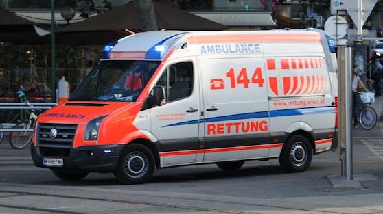 Ein Einsatzfahrzeug der Wiener Berufsrettung. (Symbolfoto)