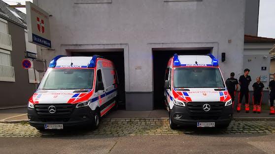 Die Berufsrettung Wien bekommt neue Rettungswagen