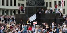 EU verhängt Sanktionen gegen Weißrussland