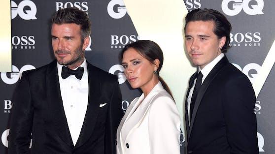 """Brooklyn (re.), der älteste Sohn von David und Victoria Beckham, knipste für die neue """"Vogue""""-Ausgabe selbst eine Fotostrecke mit seiner Verlobten."""
