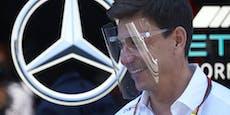 Toto Wolff deutet Abschied als Mercedes-Teamchef an