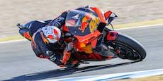 KTM rast beim Heimrennen zur Freitags-Bestzeit