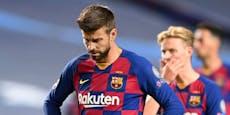 Umbruch bei Barca? Pique bietet seinen Rücktritt an