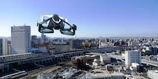 Die Zukunft ist jetzt!Japan testet fliegende Autos